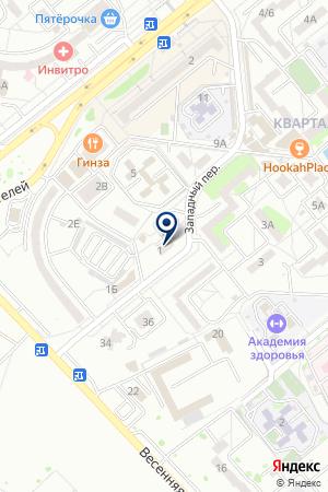 АВТОСТОЯНКА ВИКОЙЛ-2 на карте Волгодонска