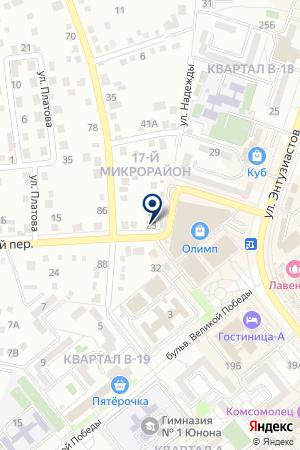 Матрас.ру на карте Ростова-на-Дону