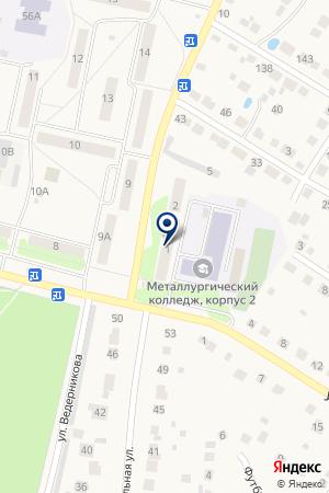 ГОУ ПРОФЕССИОНАЛЬНОЕ УЧИЛИЩЕ № 35 на карте Выксы