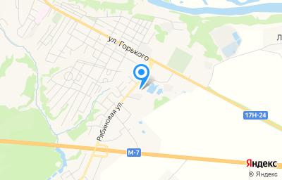 Местоположение на карте пункта техосмотра по адресу Владимирская обл, г Вязники, ул Вокзальная