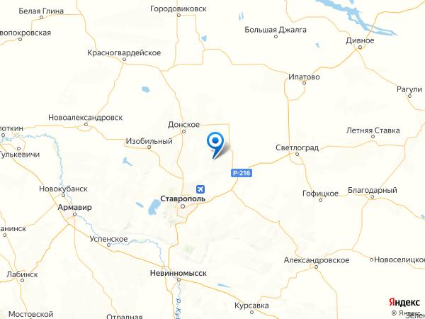 село Казинка на карте