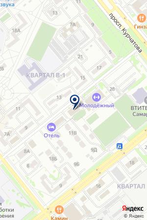 АВТОСТОЯНКА МОЛОДЕЖНАЯ на карте Волгодонска