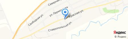 Продуктовый магазин на карте Старомарьевки
