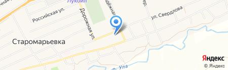 Старомарьевский дом культуры на карте Старомарьевки