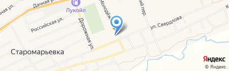 Детский сад №12 на карте Старомарьевки