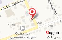 Схема проезда до компании Северо-Кавказский банк Сбербанка России в Старомарьевке