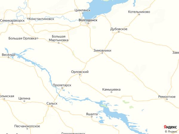 хутор Ленинский на карте