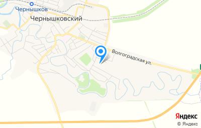 Местоположение на карте пункта техосмотра по адресу Волгоградская обл, рп Чернышковский, ул Мира, д 21/1