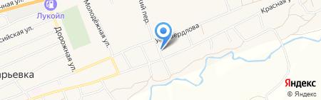СТО на карте Старомарьевки