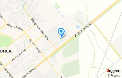 Местоположение на карте пункта техосмотра по адресу Ростовская обл, г Волгодонск, ш Жуковское, д 15