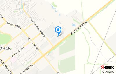 Местоположение на карте пункта техосмотра по адресу Ростовская обл, г Волгодонск, ш Жуковское, д 19 стр 3