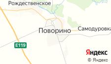 Гостиницы города Поворино на карте