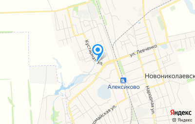 Местоположение на карте пункта техосмотра по адресу Волгоградская обл, рп Новониколаевский, ул Кустарная, д 17А