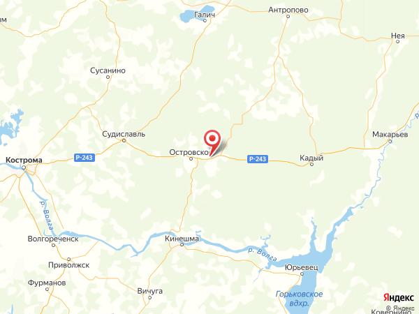 деревня Новинки на карте