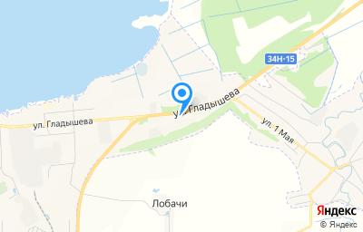 Местоположение на карте пункта техосмотра по адресу Костромская обл, г Галич, ул Гладышева, д 85А