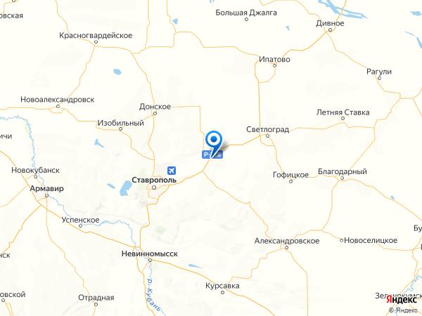 село Грачевка на карте