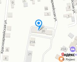 Схема местоположения почтового отделения 347462