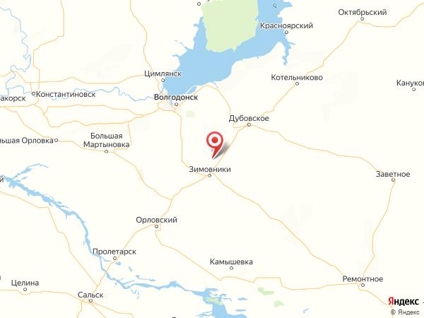 хутор Майкопский на карте