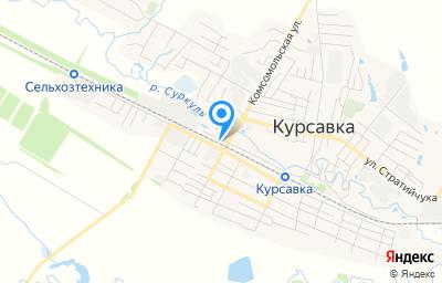 Местоположение на карте пункта техосмотра по адресу Ставропольский край, с Курсавка, ул Элеваторная