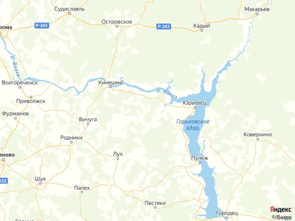 деревня Замятино на карте