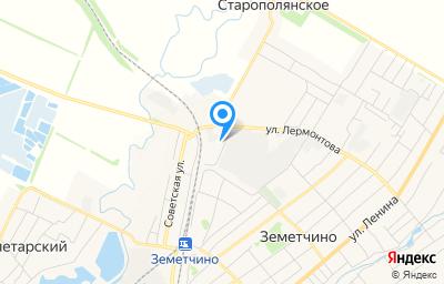 Местоположение на карте пункта техосмотра по адресу Пензенская обл, рп Земетчино, ул Лермонтова, д 37