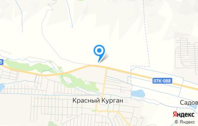 Местоположение на карте пункта техосмотра по адресу Респ Карачаево-Черкесская, Малокарачаевский р-н, с Красный Восток, д 100М