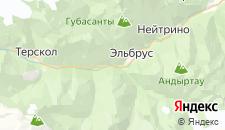 Отели города Тегенекли на карте