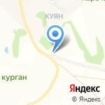 Гунн на карте Пятигорска (КМВ)