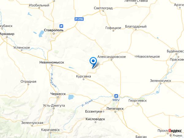 село Султан на карте