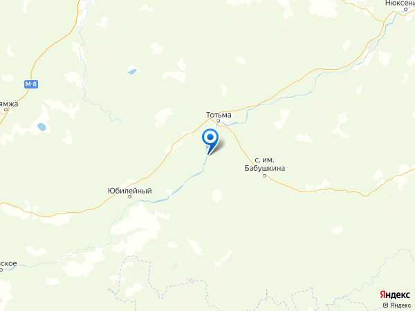поселок Чуриловка на карте