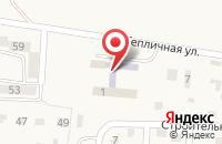Схема проезда до компании Средняя общеобразовательная школа №6 в Нежинском