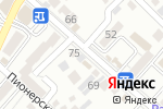 Схема проезда до компании Тропический рай в Кисловодске