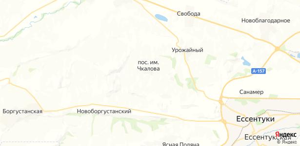 Чкалова на карте