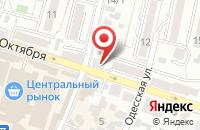Схема проезда до компании ГорЗдрав в Кисловодске