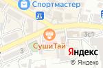 Схема проезда до компании Дезинфекция-Профессионал в Кисловодске