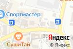 Схема проезда до компании Свежие куры в Кисловодске