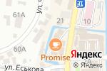 Схема проезда до компании Канц-Маркет в Кисловодске