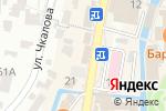 Схема проезда до компании Сафар-Тур в Кисловодске