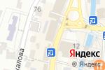 Схема проезда до компании Женева в Кисловодске