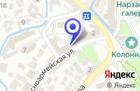 Схема проезда до компании КОСМЕТИЧЕСКАЯ КЛИНИКА ЭЛОРМА в Кисловодске