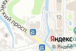 Схема проезда до компании Парк-Отель в Кисловодске