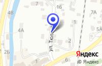 Схема проезда до компании ТЭЦ ЮЖНАЯ ГЕНЕРИРУЮЩАЯ КОМПАНИЯ в Кисловодске