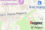 Схема проезда до компании Шапландiя в Кисловодске