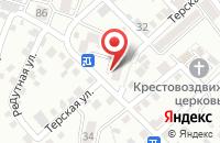 Схема проезда до компании Луч в Кисловодске