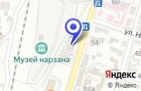 Схема проезда до компании ПРОДОВОЛЬСТВЕННЫЙ МАГАЗИН МИНЕРАЛЬНЫЙ в Кисловодске