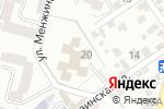 Схема проезда до компании Семицветик в Кисловодске