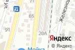 Схема проезда до компании Мир обоев в Кисловодске