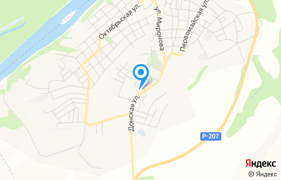 Местоположение на карте пункта техосмотра по адресу Волгоградская обл, г Серафимович, ул Донская, д 144