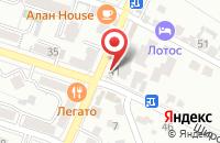 Схема проезда до компании 36.7 в Кисловодске