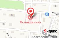 Схема проезда до компании Яснополянская участковая больница в Ясной Поляне